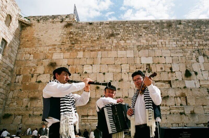 photo Klezmers for Bar Mitzvah kotel