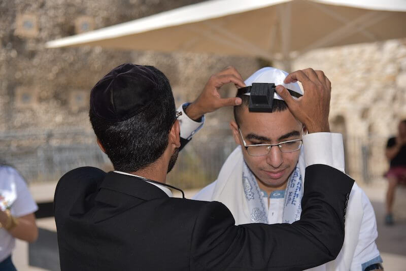 photo planning a bar mitzvah in israel