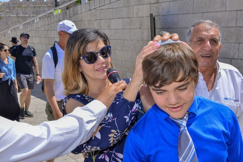 photo bar mitzvah process