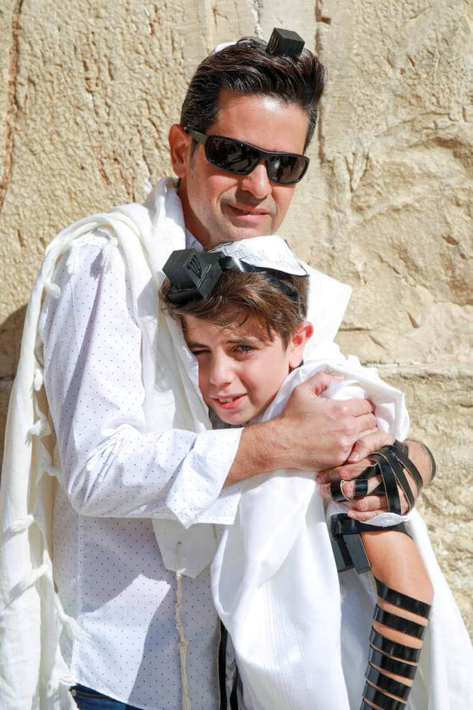 photo bar mitzvah ceremony in israel