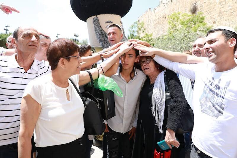 photo bar mitzvah in the kotel