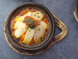 photo Potato in Moroccan style