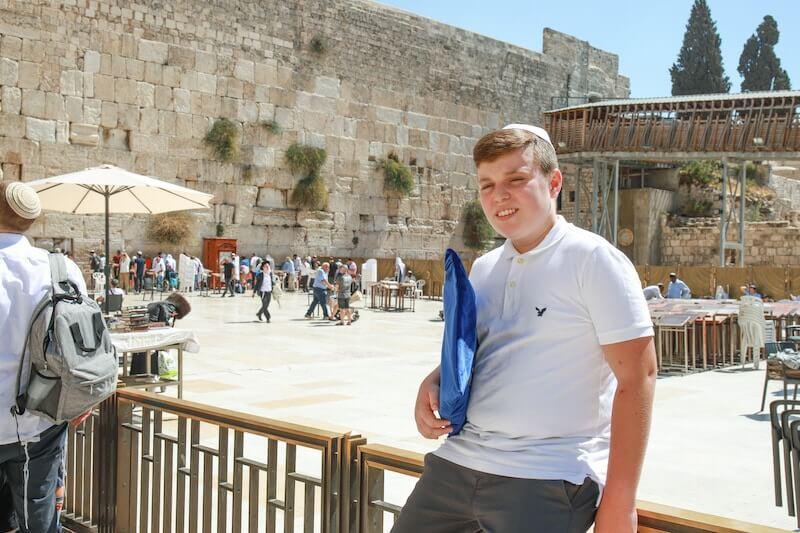 bar mitzvah kotel israel