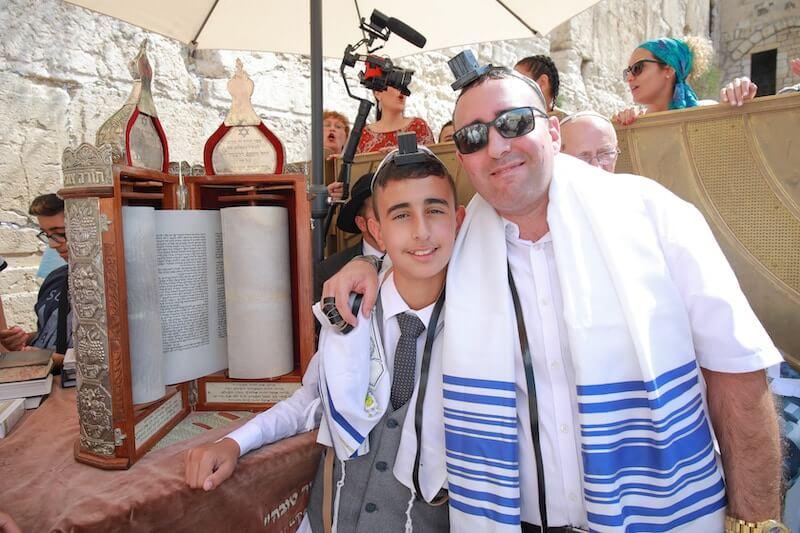 photo bar mitzvah blessing