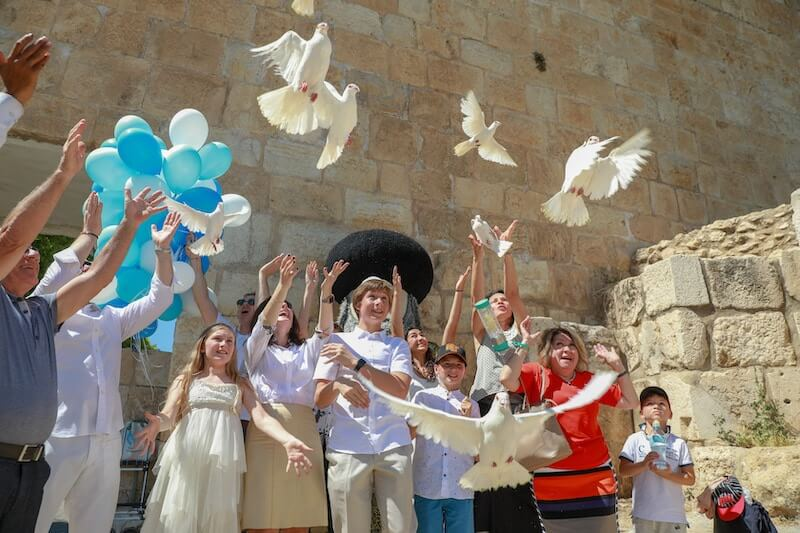photo Bar mitzvah at the Western Wall and its symbolism