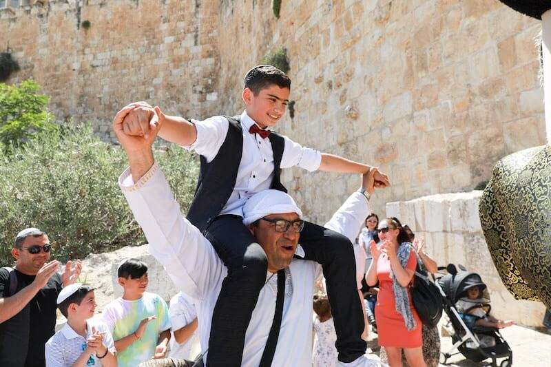 photo bar mitzvah in israel
