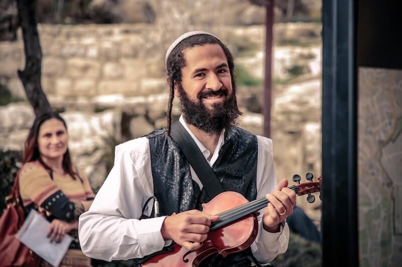 photo Bar mitzvah at the Kotel with Klezmer melodies
