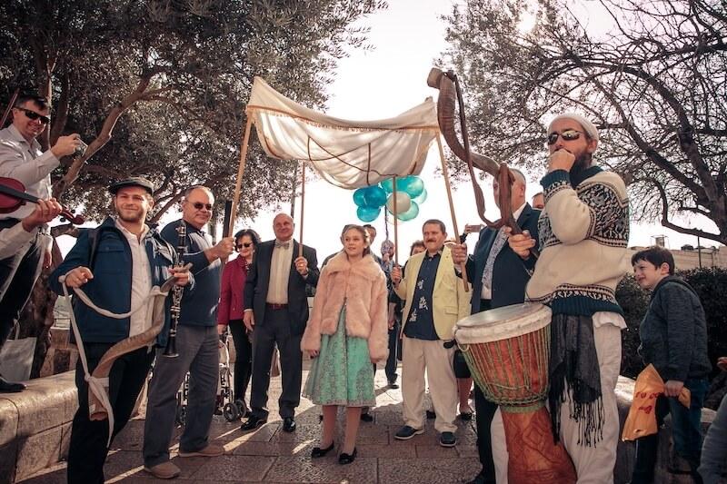 photo bar mitzvah kotel israel
