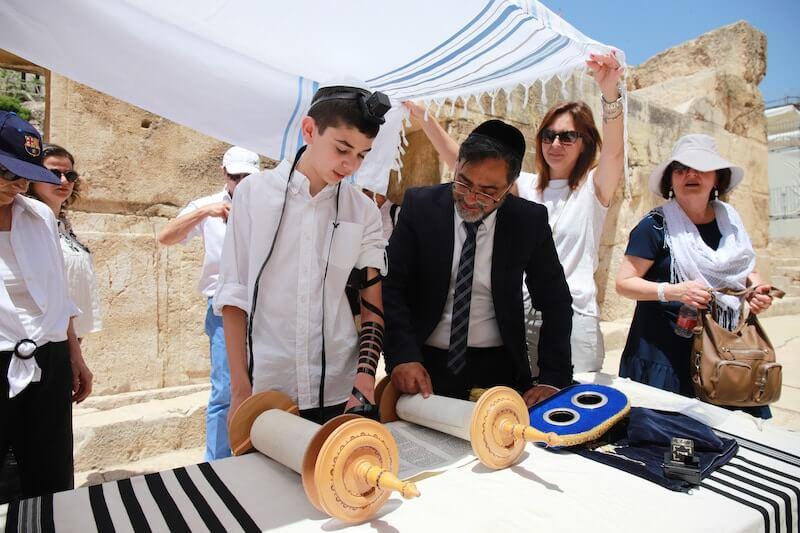 bar mitzvah+kotel masorti