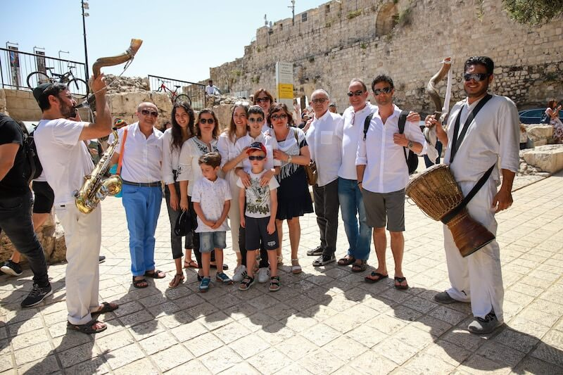 bar mitzvah at the kotel western wall